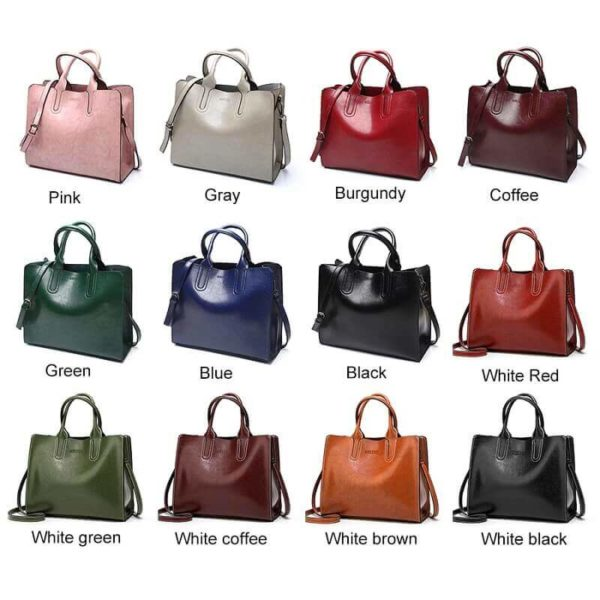 All variations of shoulder bag