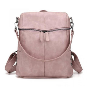 Pink packpack