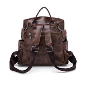 back of a backpack