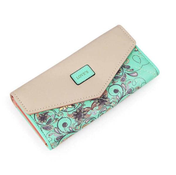 wallet light green