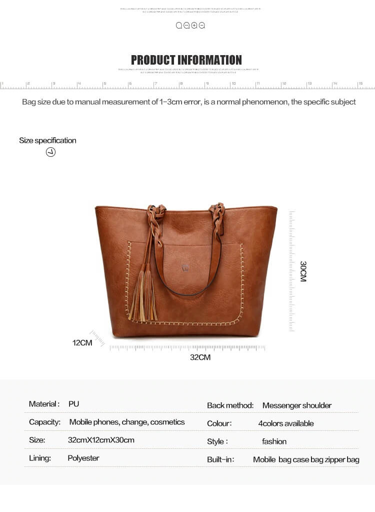 Brown bag specifications
