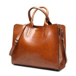 quality leather shoulder bag(1)